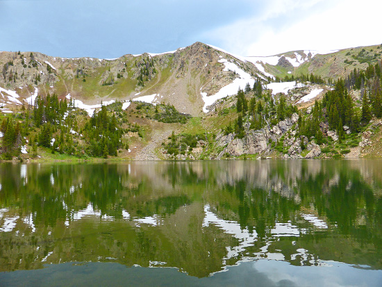 Bowen Lake (11,019') in the Never Summer Wilderness